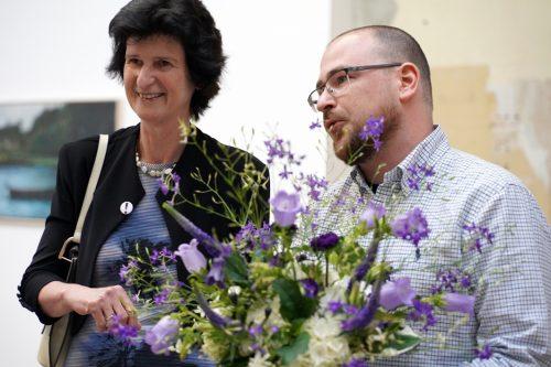 Großen Dank an die Staatsministerin Frau Dr. Eva-Maria Stange, für die bewegende Rede zur Finissage am 28.6.2019.
